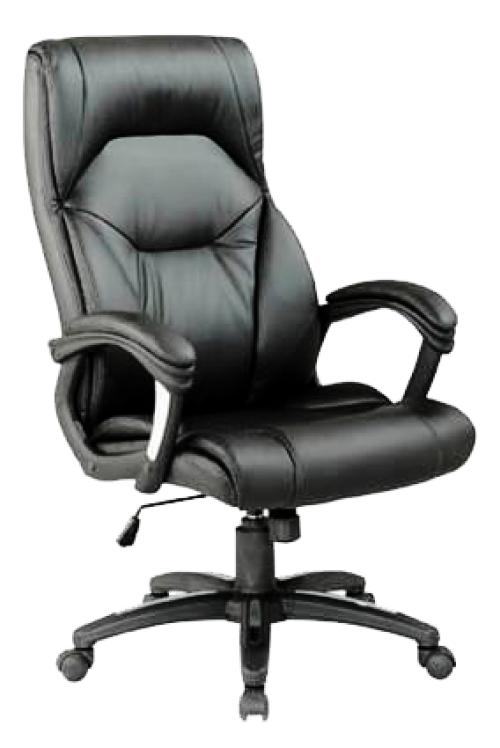 Wellington Pu Managers Chair Black