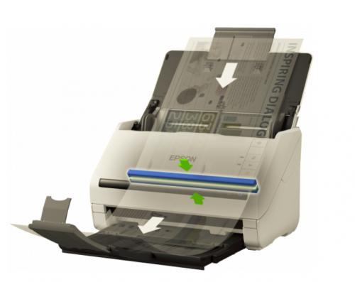 Epson WorkForce DS530N Sheetfed Scanner