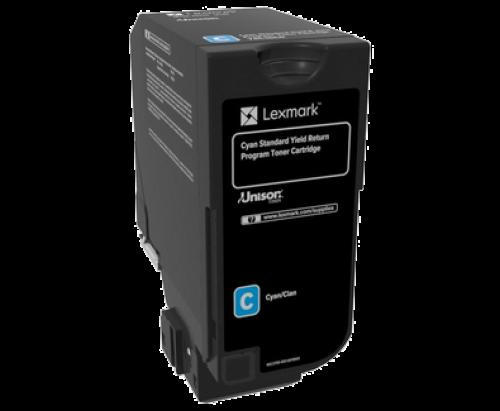 Lexmark 74C2SC0 Cyan Toner 7K