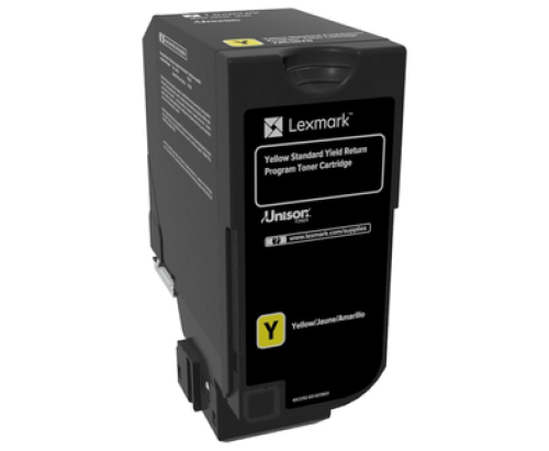 Lexmark 74C2SY0 Yellow Toner 7K