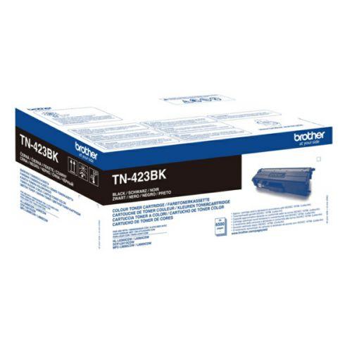 OEM Brother TN-423BK Black 6500 Pages Original Toner
