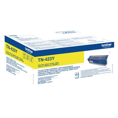 OEM Brother TN-423Y Yellow 4000 Pages Original Toner