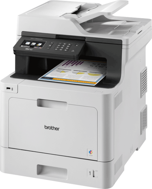 Brother MFC-L8690CDW A4 Colour Laser Multifunction Printer Wireless