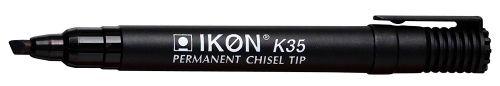 Langstane Ikon K35 Perm Chisel Mkr Black - SINGLE