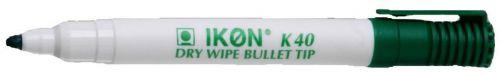 Langstane Ikon K40 Drywipe Marker Green - SINGLE