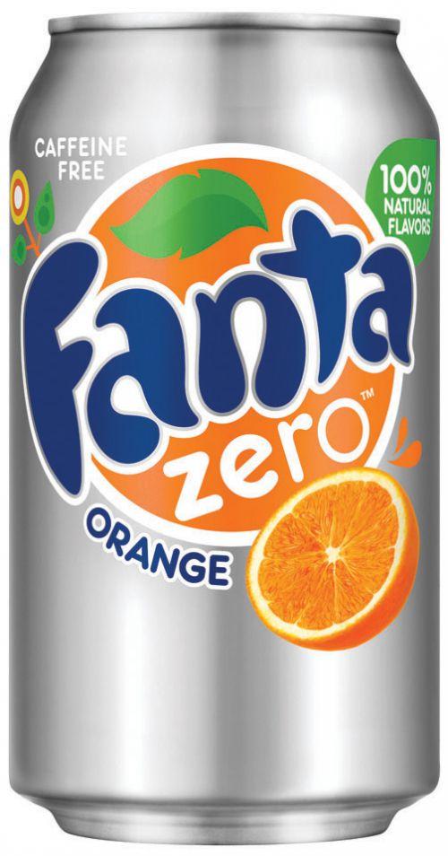 Fanta Zero Drink Can 330ml (Pack 24) 402039