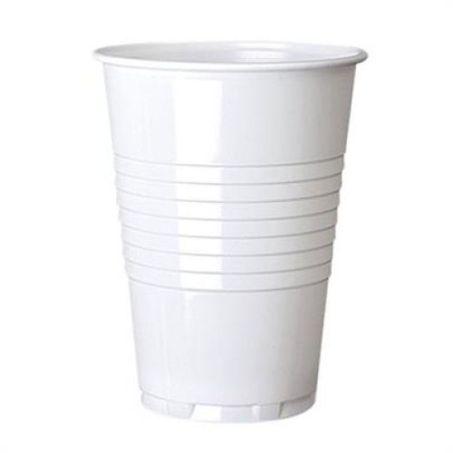 ValueX 7oz Plastic White Vending Cups (Pack 100)