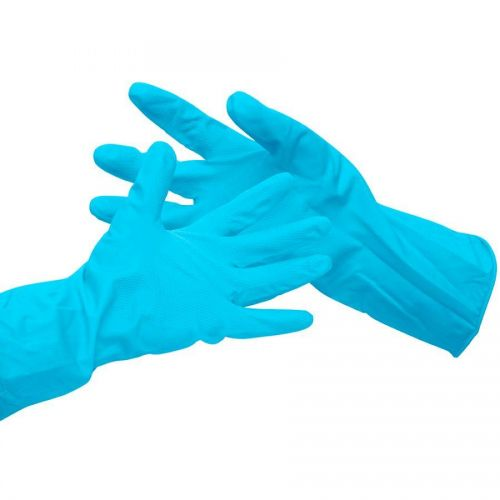 Value Household Rubber Gloves Blue Small
