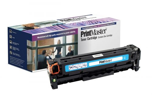 PrintMaster HP 305A Cyan 2600 Pages