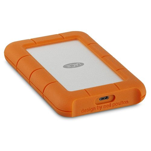 4TB Rugged USB 3.1 Type C Orange Ext HDD