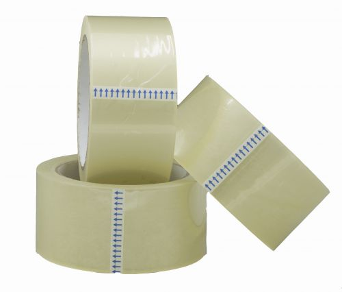ValueX Clear Easy Tear Tape 48mmx66m (Pack 6)