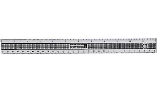 ValueX Ruler 30cm Shatter Resistant Single