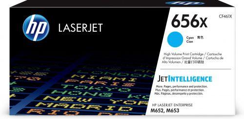 HP 656X Cyan High Yield Toner Cartridge 22K pages for HP Color LaserJet Enterprise M652/M653 - CF461X