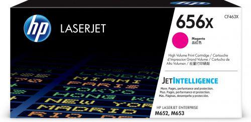 HP 656X Magenta High Yield Toner Cartridge 22K pages for HP Color LaserJet Enterprise M652/M653 - CF463X