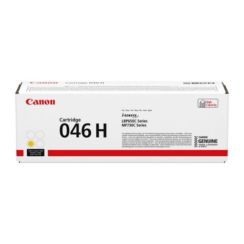 OEM Canon 1251C002 046HY Yellow 5000 Pages Original Toner
