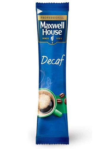 Maxwell House Decaffeinated Instant Coffee Sticks 1.5g (Pack 200)