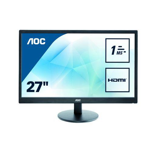 AOC E2770Sh 27In Widescreen LED Monitor 1Ms