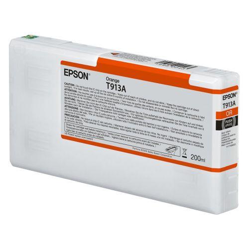 Epson C13T913A00 T913A Orange Ink 200ml