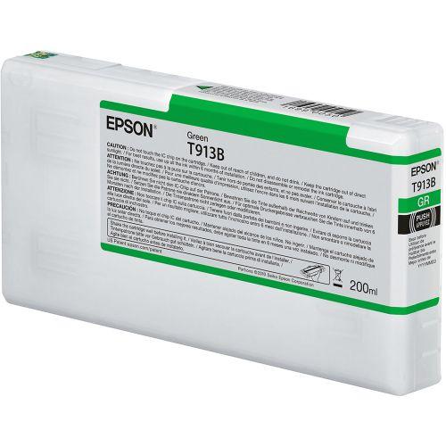 Epson C13T913B00 T913B Green Ink 200ml