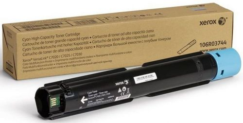 Xerox Cyan High Capacity Toner Cartridge 9.8k pages for VLC70XX - 106R03744
