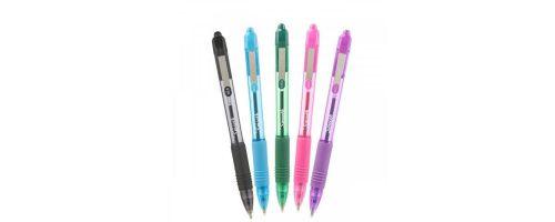 Zebra Z-Grip Smooth Retractable Ballpoint Pen Assorted PK5