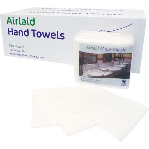 EcoTech Airlaid Hand Towels (30x36cm) Box 50