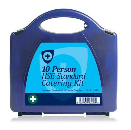 Blue Dot Eclipse HSE 10 Person Catering First Aid Kit Blue