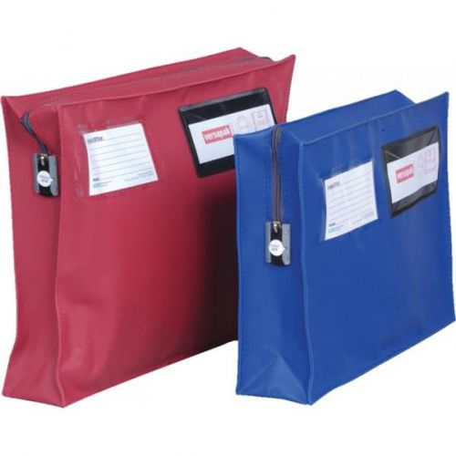 Versapak Mailing Pouch With Gusset 406 X 305 X 75mm Blue