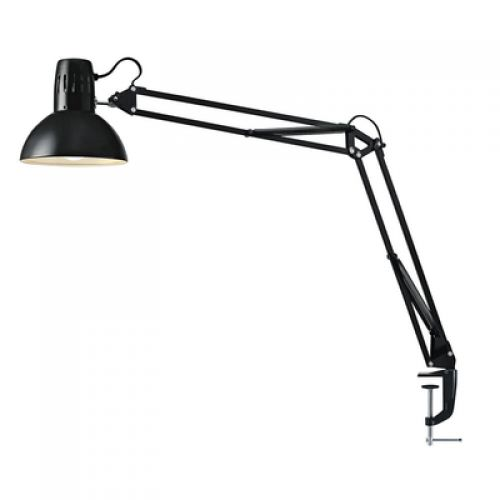 Hansa LED Table Clamp Lamp Manhattan Black 5W