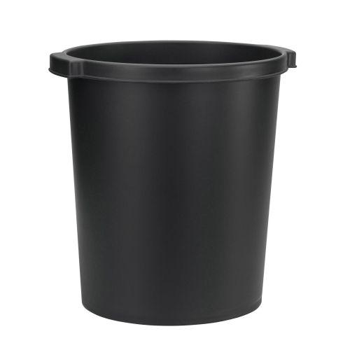 Jalema Resolution Waste Bin Plastic 15 Litre Black