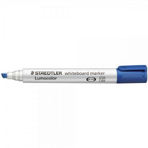 Staedtler Whiteboard Marker Blue Chisel (Pack 10)