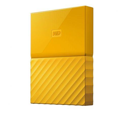 WD My Passport 3TB Portable Yellow Drive