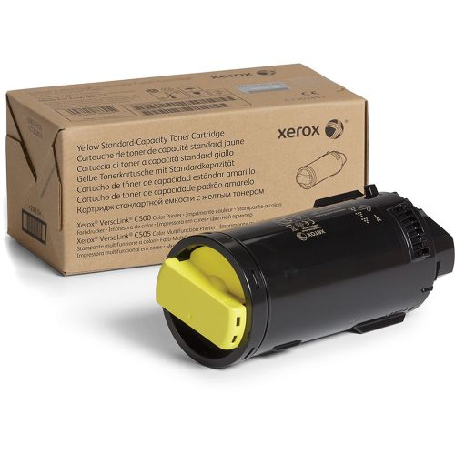 Xerox Yellow Standard Capacity Toner Cartridge 2.4k pages for VLC500/ VLC505 - 106R03861