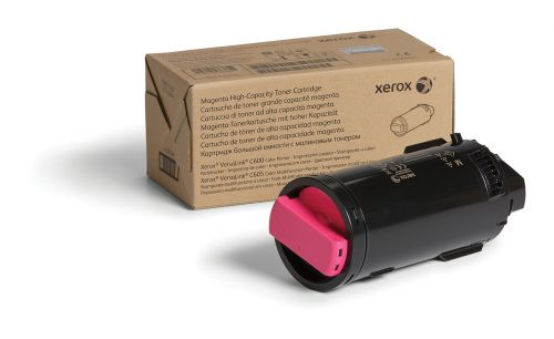 Xerox Magenta High Capacity Toner Cartridge 10.1k pages for VLC600/ VLC605 - 106R03905