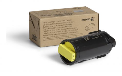 Xerox Yellow High Capacity Toner Cartridge 16.8k pages for VLC605 - 106R03934