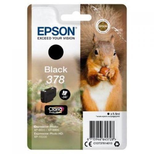 Epson C13T37814010 378 Black Ink 5.5ml