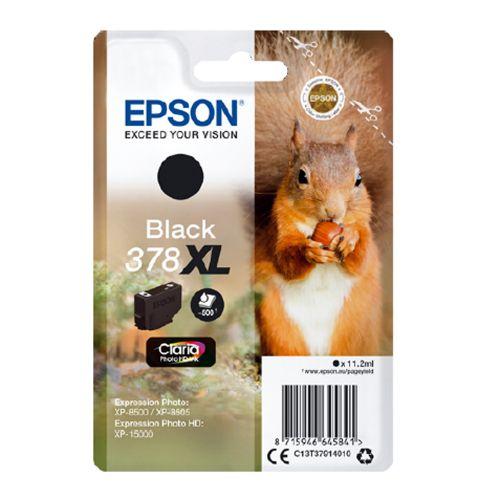 Epson C13T37914010 378XL Black Ink 11ml