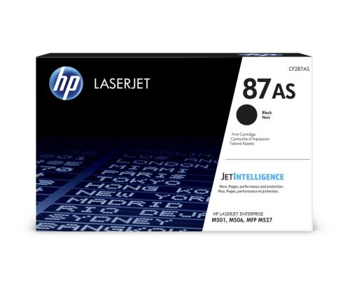 HP CF287AS 87AS Black Toner 6K