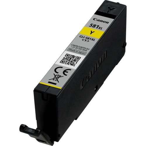 Canon 2051C001 CLI581XL Yellow Ink 8ml