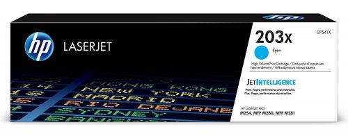 HP 203X Cyan Standard Capacity Toner Cartridge 2.5K pages - CF541X