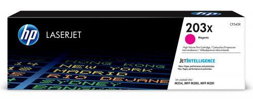 HP 203X Magenta Standard Capacity Toner 2.5K pages CF543X