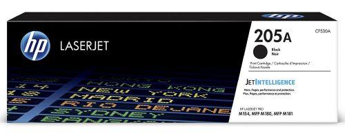 HP 205A Black Standard Capacity Toner Cartridge 1.1K pages for HP Color LaserJet Pro MFP M180/181 - CF530A