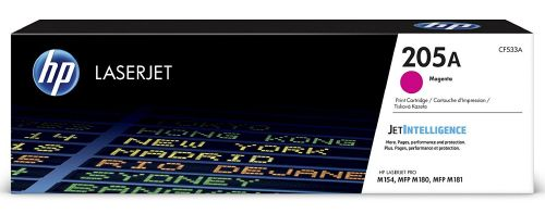 HP 205A Magenta Standard Capacity Toner 900 pages CF533A