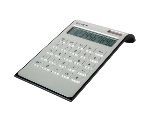 Genie DD400 Desktop Calculator Silver