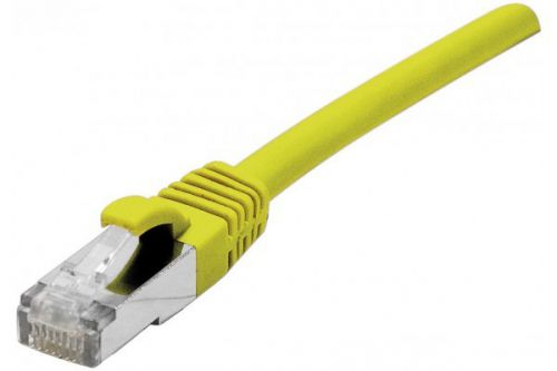 EXC RJ45 Cat.6 Snagless Yellow 3 Metre Cable