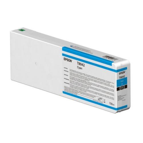 Epson C13T804200 T8042 Cyan Ink 700ml