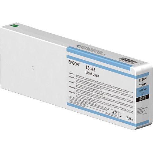 Epson C13T804500 T8045 Light Cyan Ink 700ml