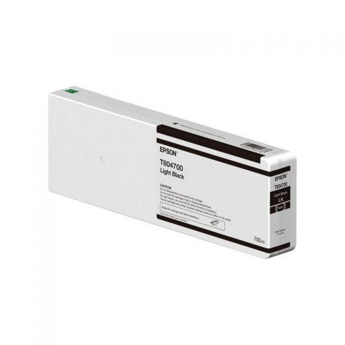 Epson C13T804700 T8047 Light Black Ink 700ml