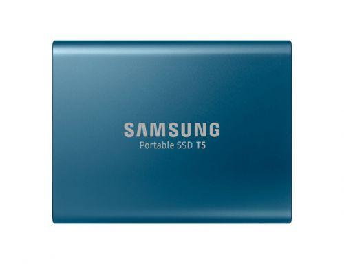 Samsung SSD Ext 500GB T5 Blue USB3.1 Gen2 USBC