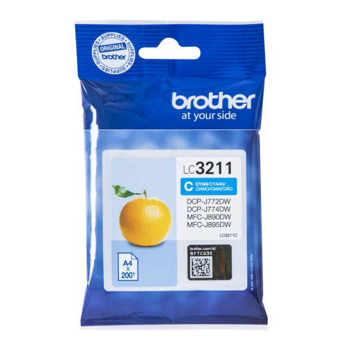 Brother LC3211C Cyan Ink 12ml